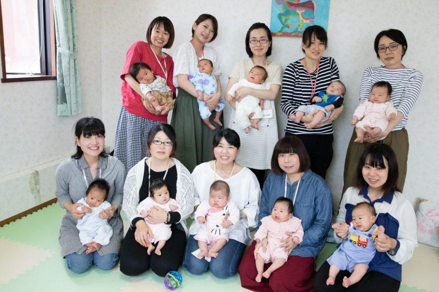 充実した産後ケアで育児を支援