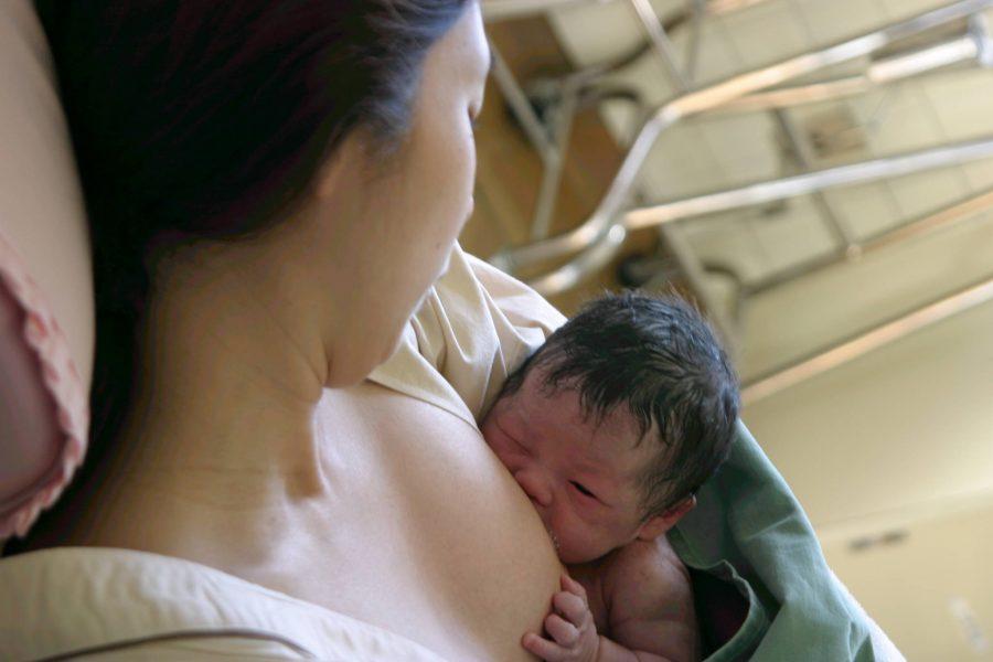開業当初から母乳育児を推進
